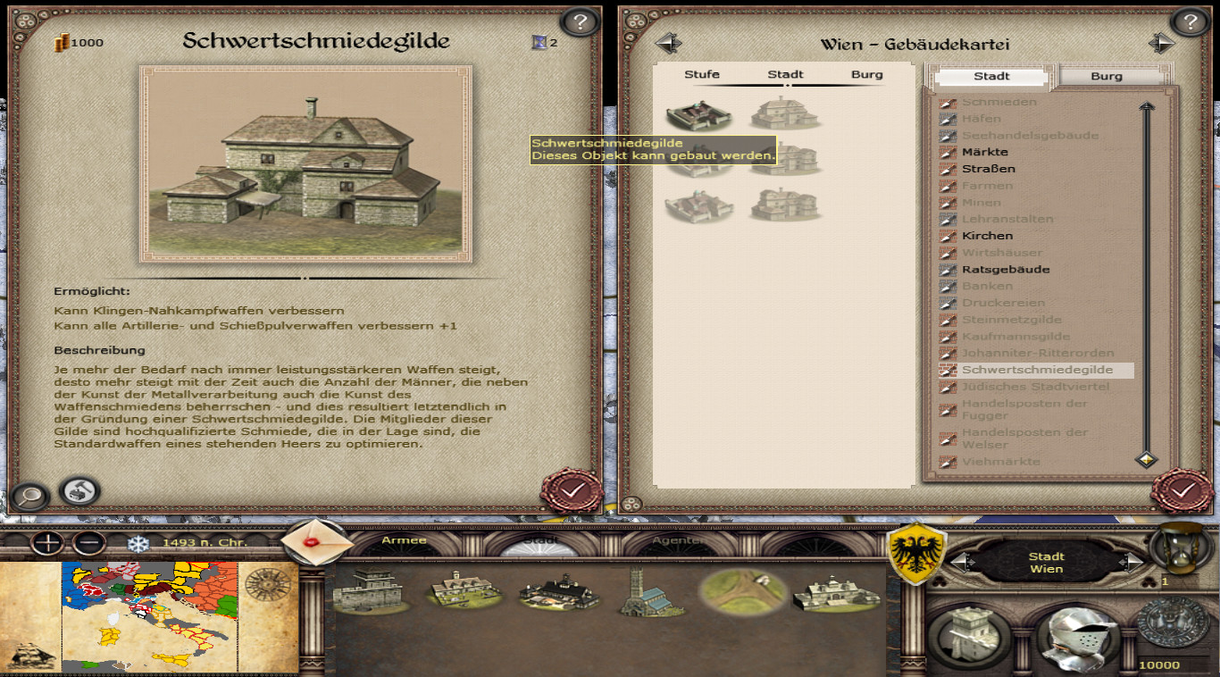 The guild house of the weaponsmith