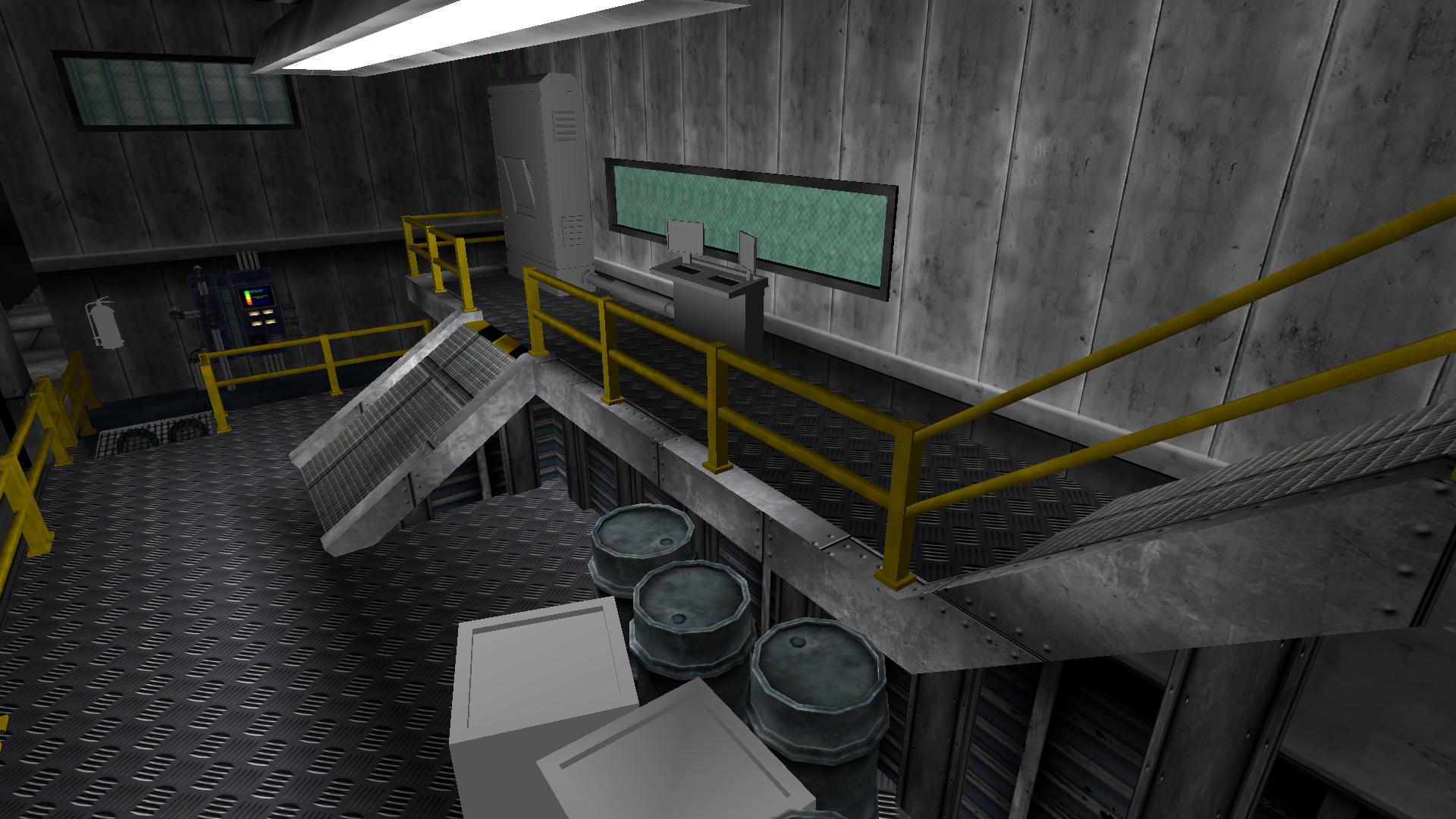 Allied War Factory Interior 1A
