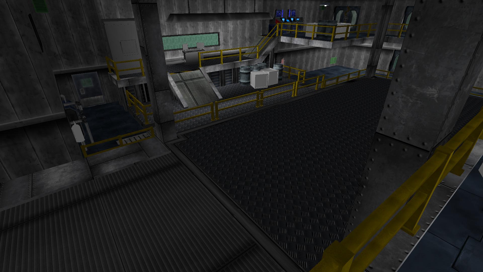 Allied War Factory Interior 1B