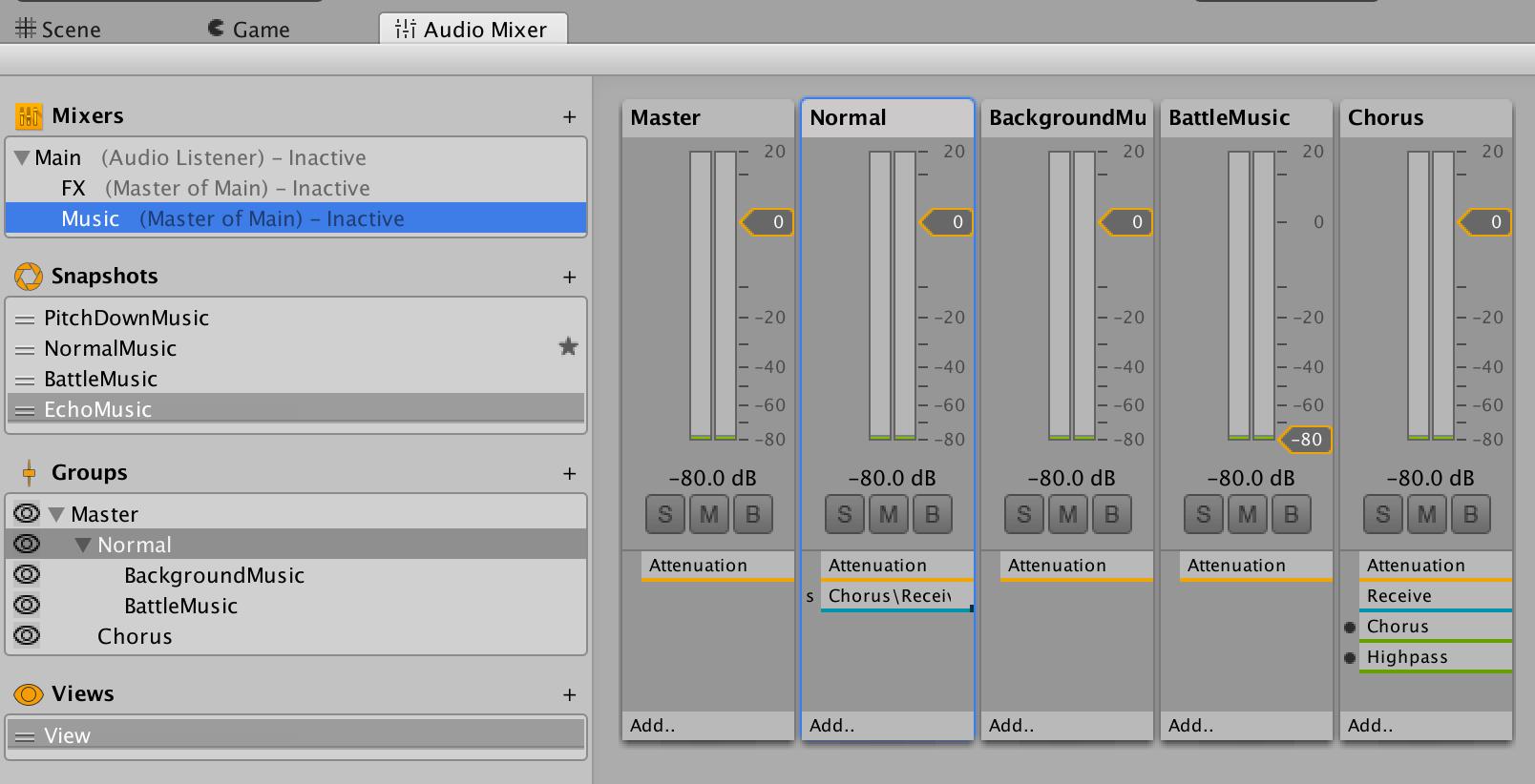 Twin Flames - Audio Mixer