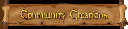 Community Creations