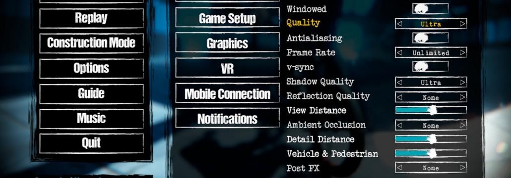 pantallazo menu