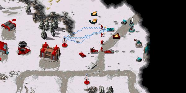 Red Alert Gap Generators now actively reduce enemy unit sight.