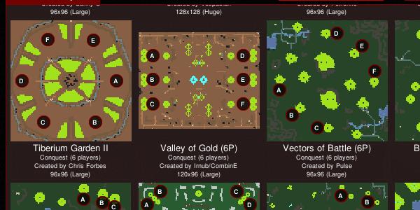 new td map pool