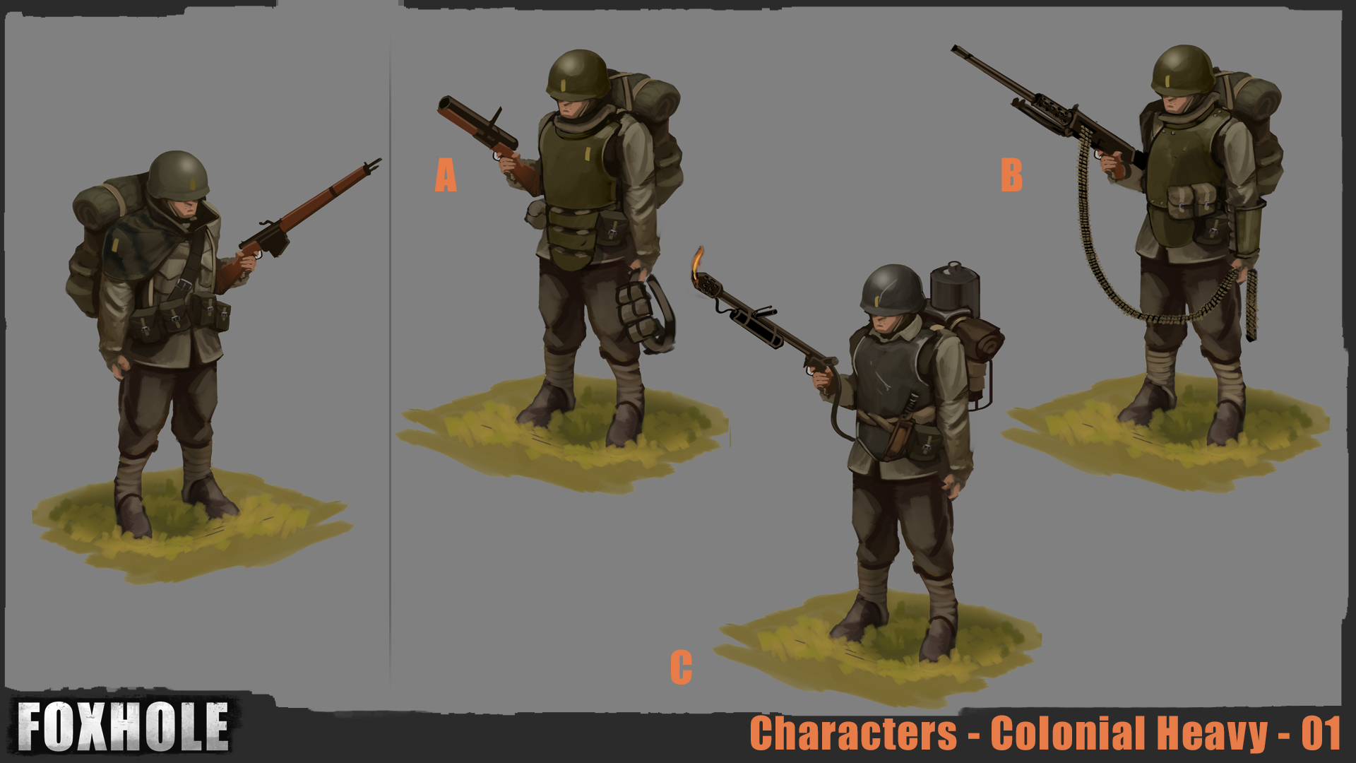 outfits  carbine  and world conquest news - foxhole