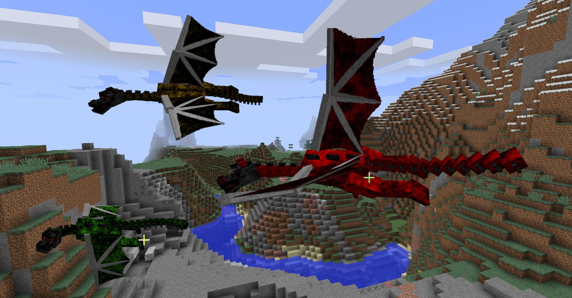 моды на дракона майнкрафт #7