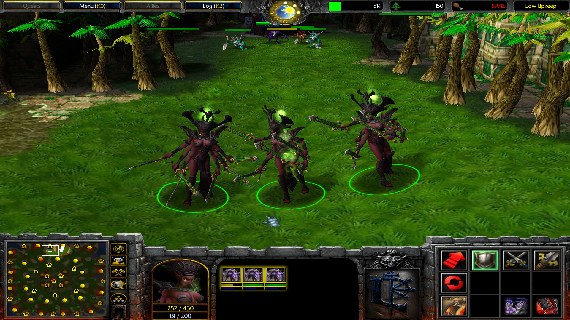 Update and explanation news - Warcraft 3: Heroes of the