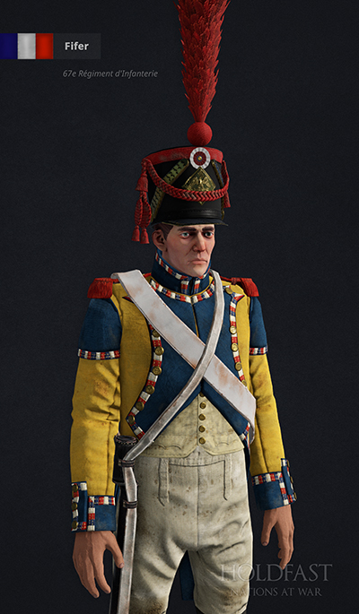 Holdfast NaW - French Fifer (67e Régiment d'Infanterie)