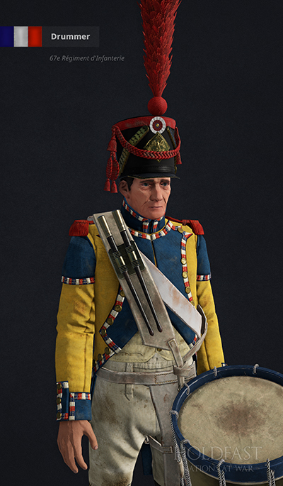 Holdfast NaW - British Drummer (56th [West Essex] Regiment of Foot)