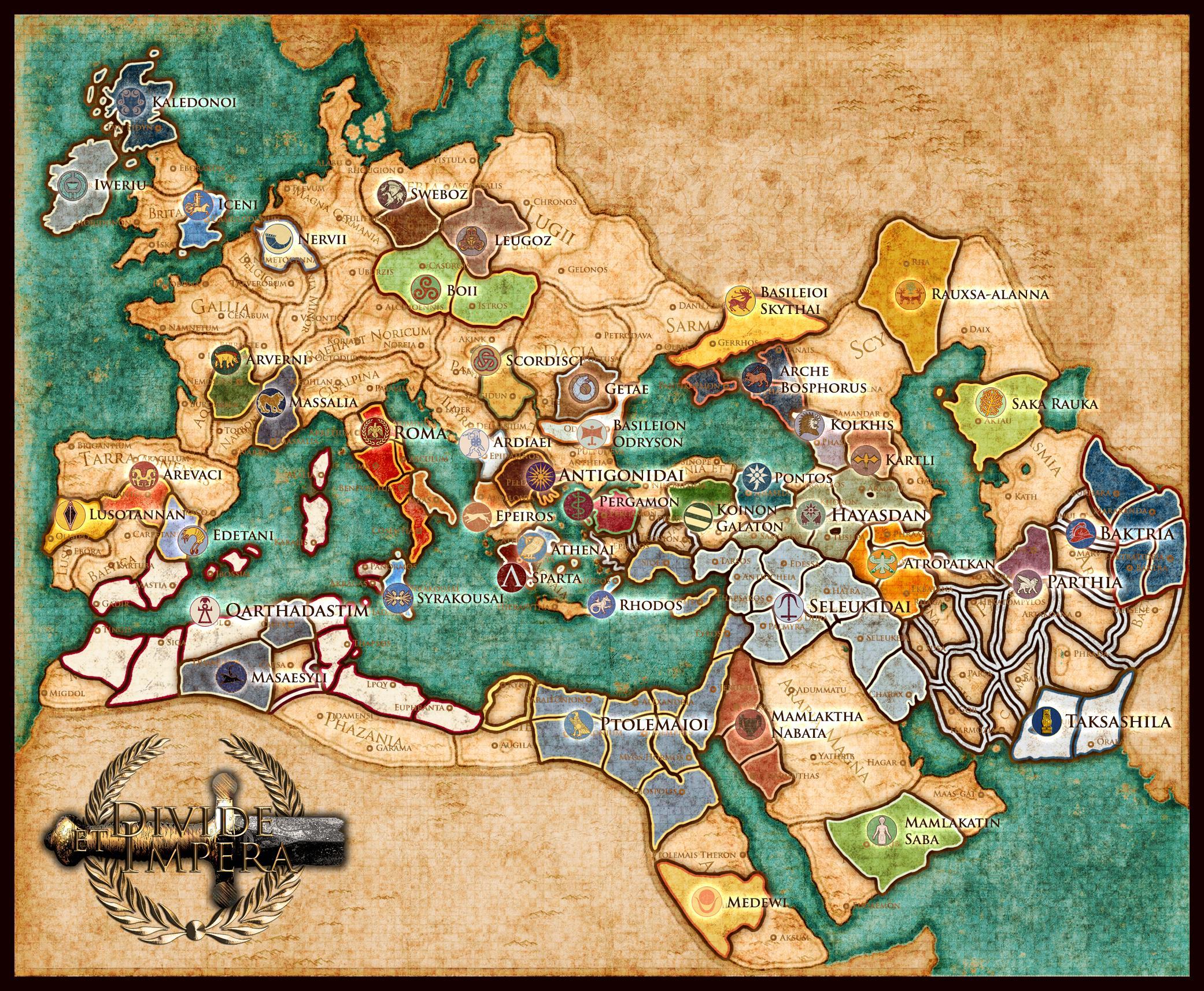 Divide et Impera mod for Total War: Rome II - Mod DB