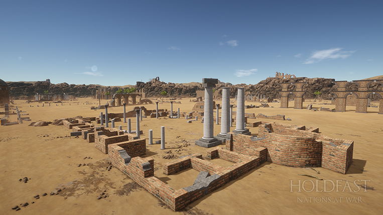 Holdfast NaW - Desert Ruins Environment 1