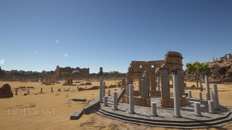 Holdfast NaW - Desert Ruins Environment 2