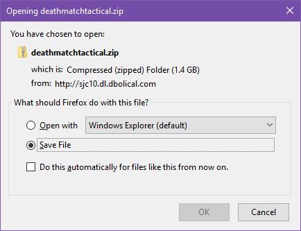 Click Save File!