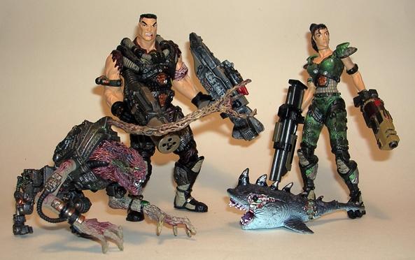 Quake 2 toys
