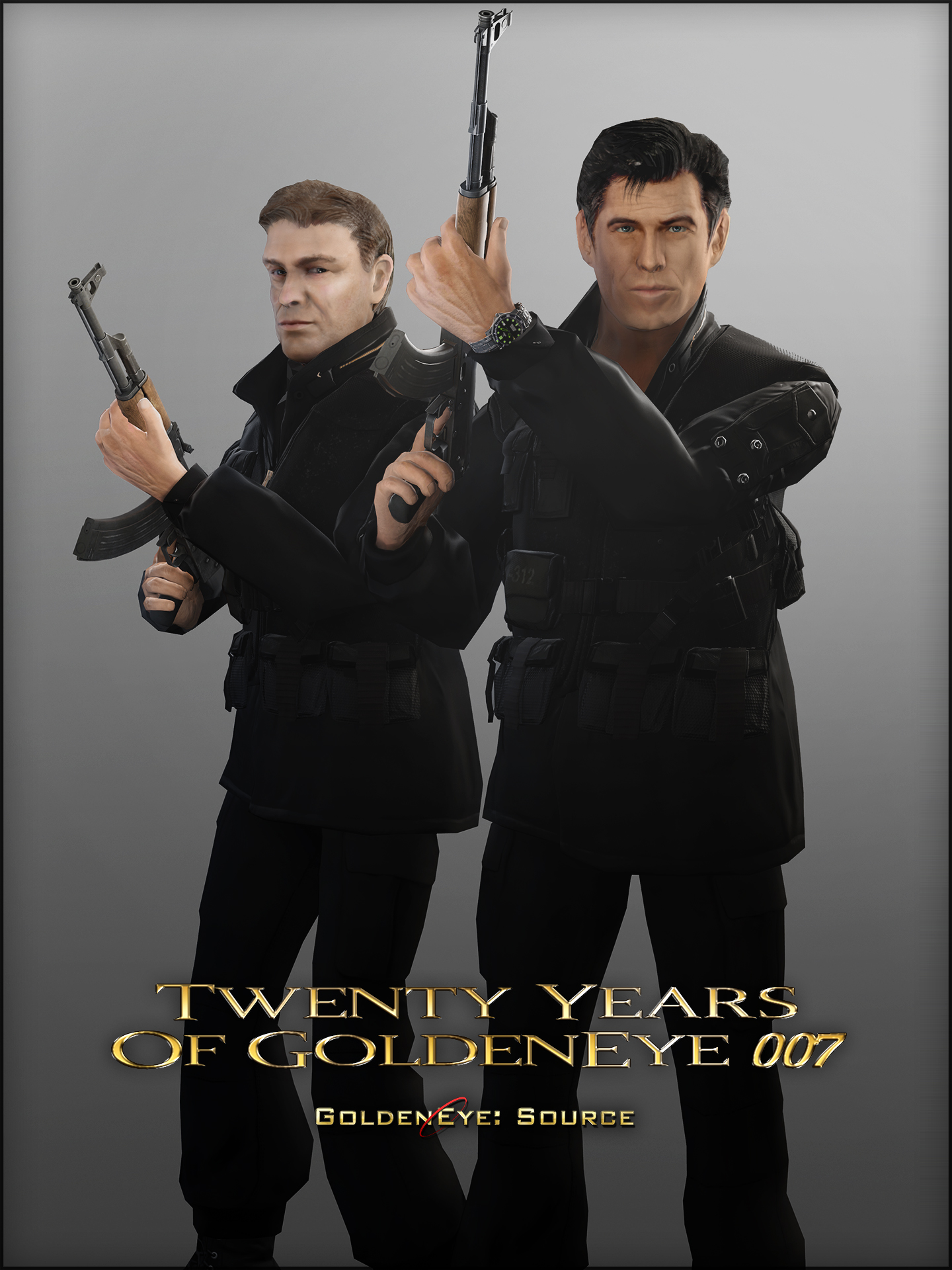 GoldenEye 007 Poster recreation