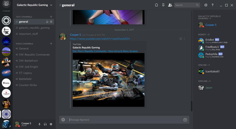 Discord Server news - Troika mod for Star Wars: Republic Commando