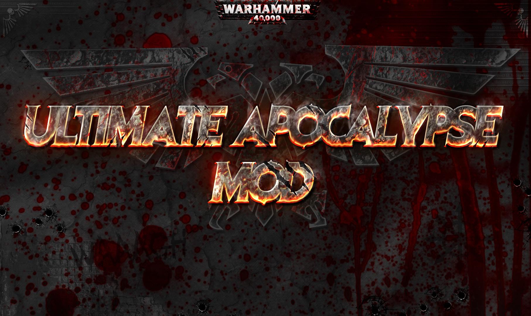 NEWS - Latest updates and 1 88 7 Progress - Ultimate Apocalypse Mod