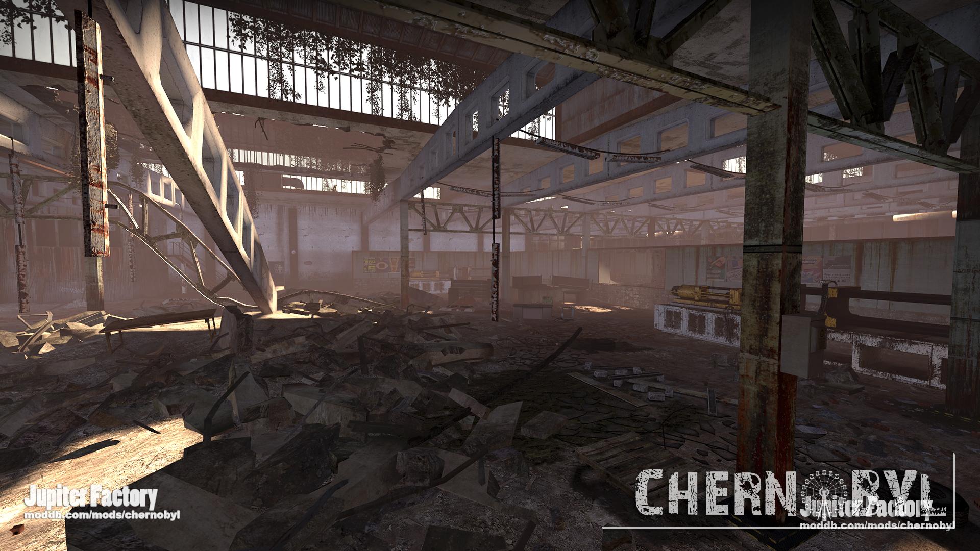 Jupiter Factory news - Chernobyl mod for Left 4 Dead 2 - Mod DB
