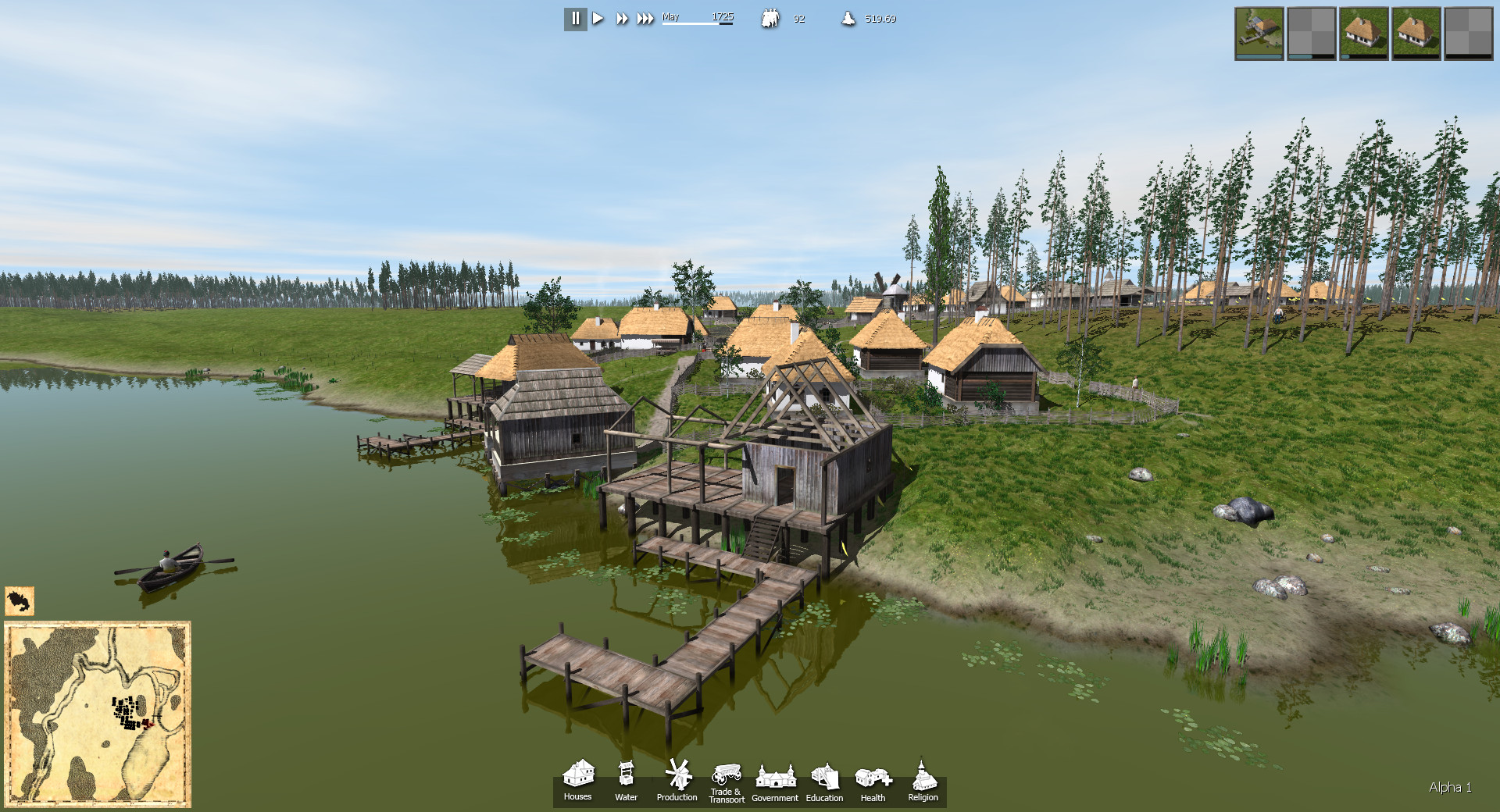 Ostriv alpha 1 is now available for pre order news mod db for Online home builder