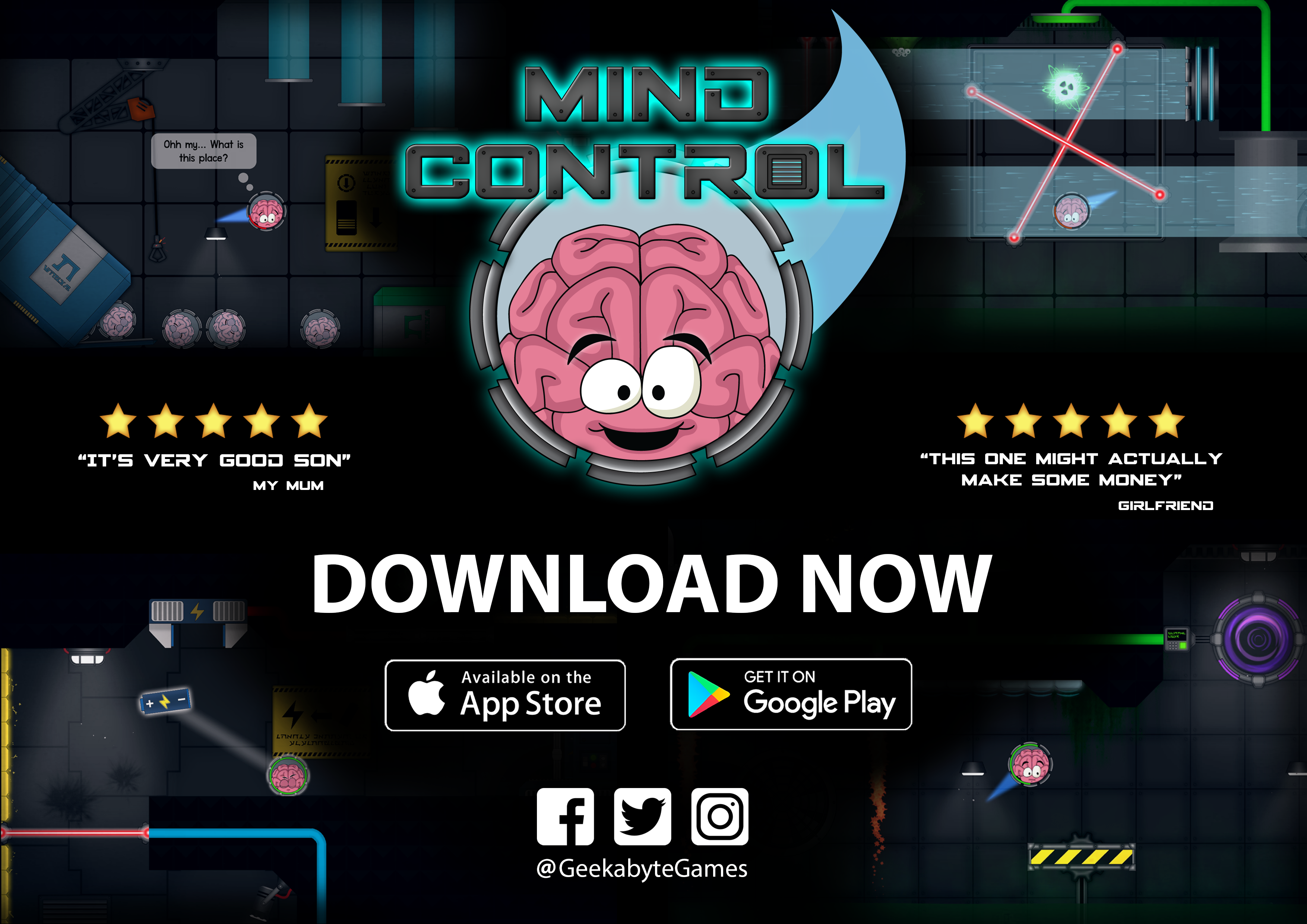 Mind Control live on Android and iOS FREE download! news - Mod DB