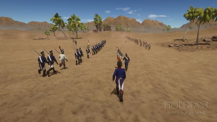 Holdfast NaW - Sunday Napoleonic Battle Event (Tahir Desert)