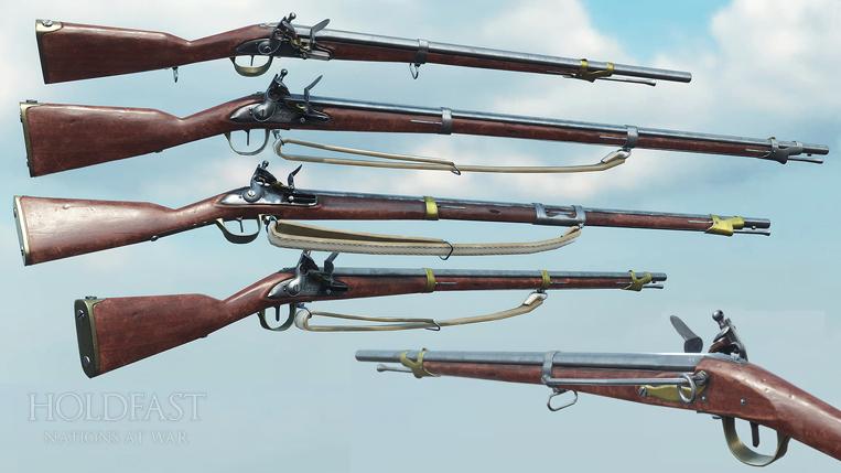 Holdfast NaW - French Firearms [WIP]