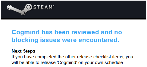 cogmind_steam_build_final_approval_email