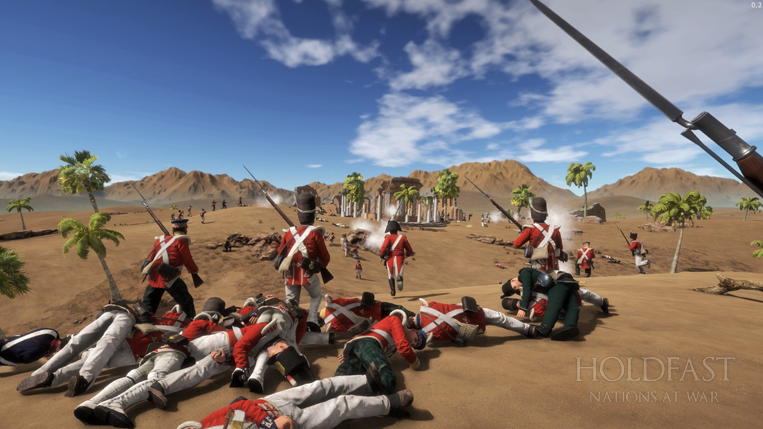 Holdfast NaW - The Brits Charge On
