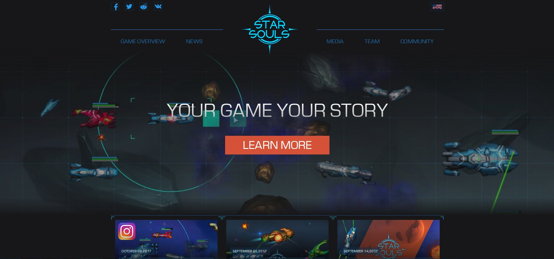 game post website