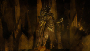 Sauron creating the One Ring