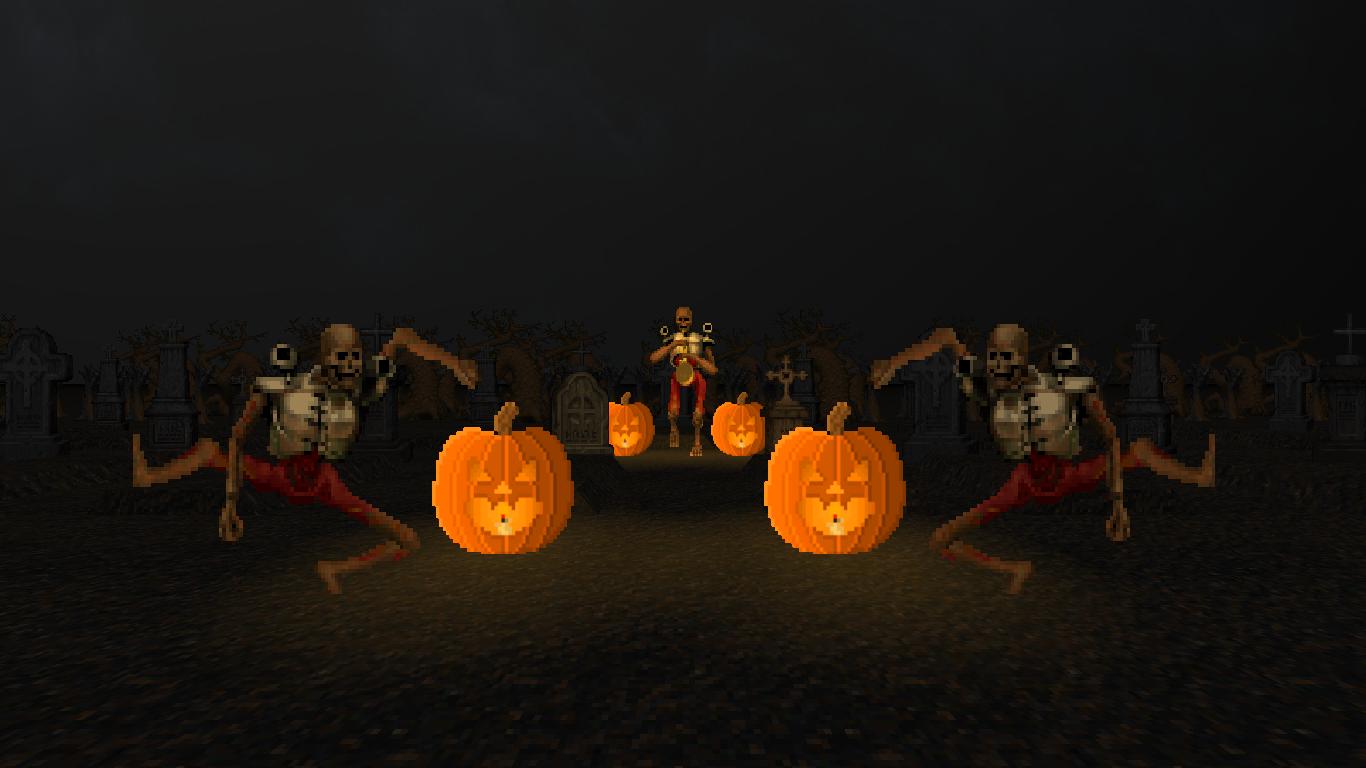 Happy Halloween Skull Trumpet Goes Doom News Mod Db