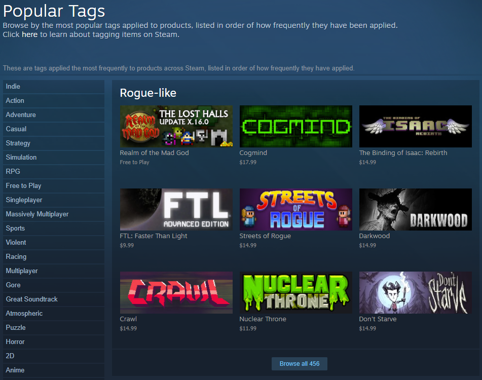 cogmind_steam_launch_week_roguelike_tag_page_1