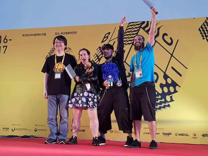 Agatha Knife winner of Excellence in Narrative in BICFest 2017 Awards