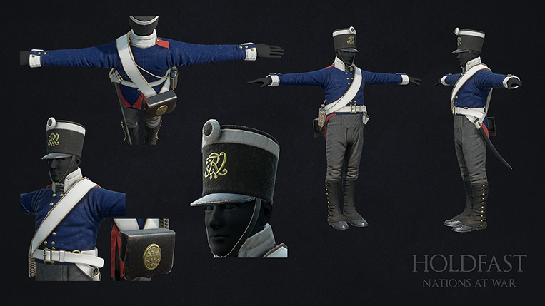 Holdfast NaW - Prussian Line Infantry1