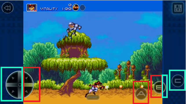 Gunstar Heroes Android Screenshot 2