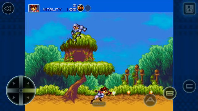 Gunstar Heroes Android Screenshot 1