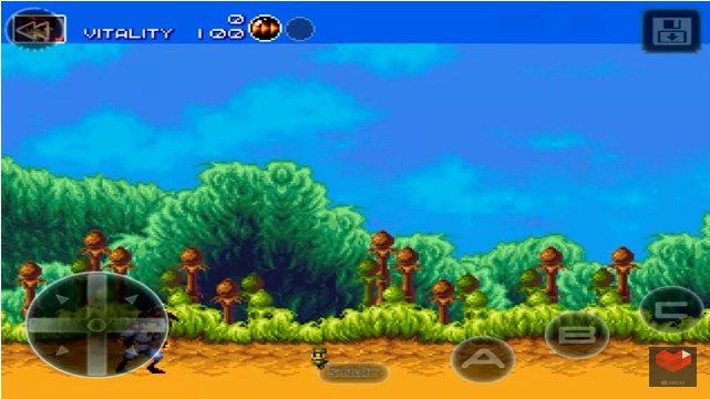 Gunstar Heroes iOS Screenshot 2