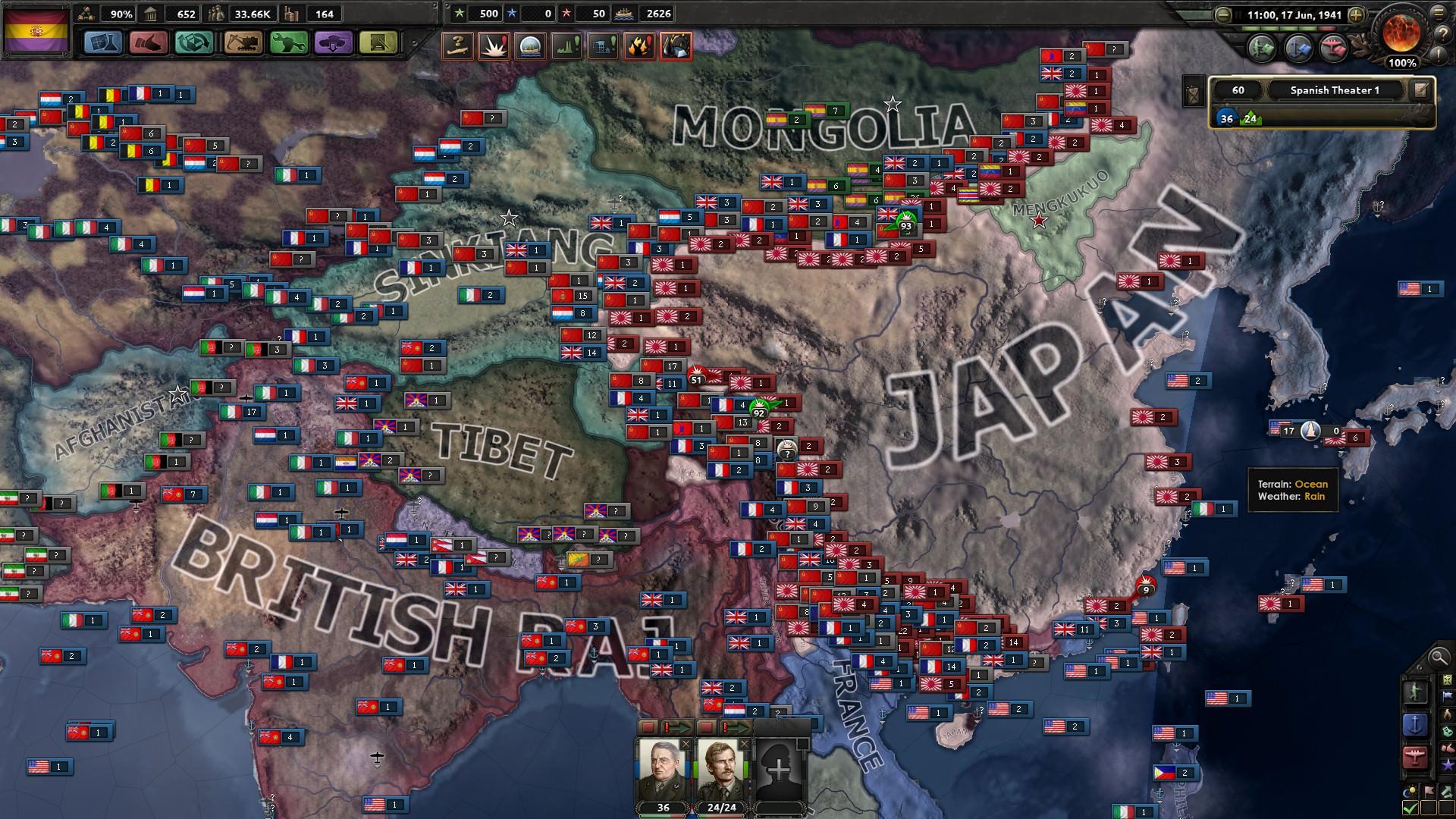 Development Update III: Trials, Tribulations, and a War in South