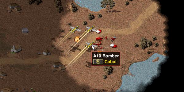 AI Airstrike