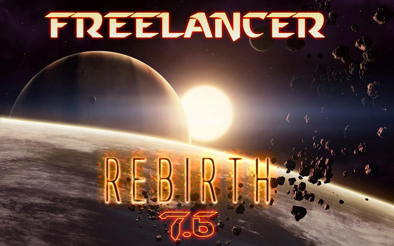 freelancer rebirth mod 7.6 секреты