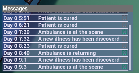 Ingame Messages