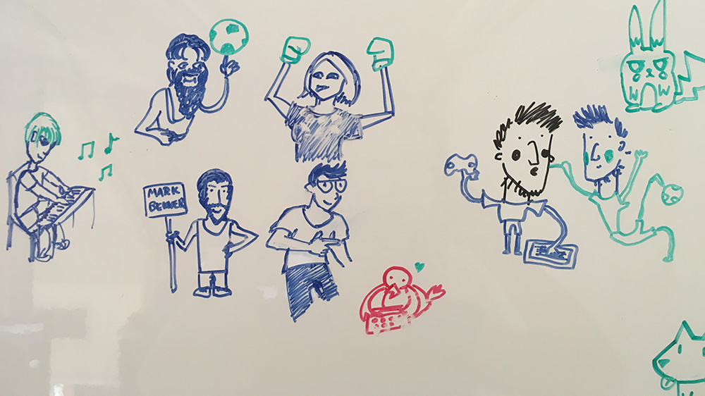 Sketches from our office