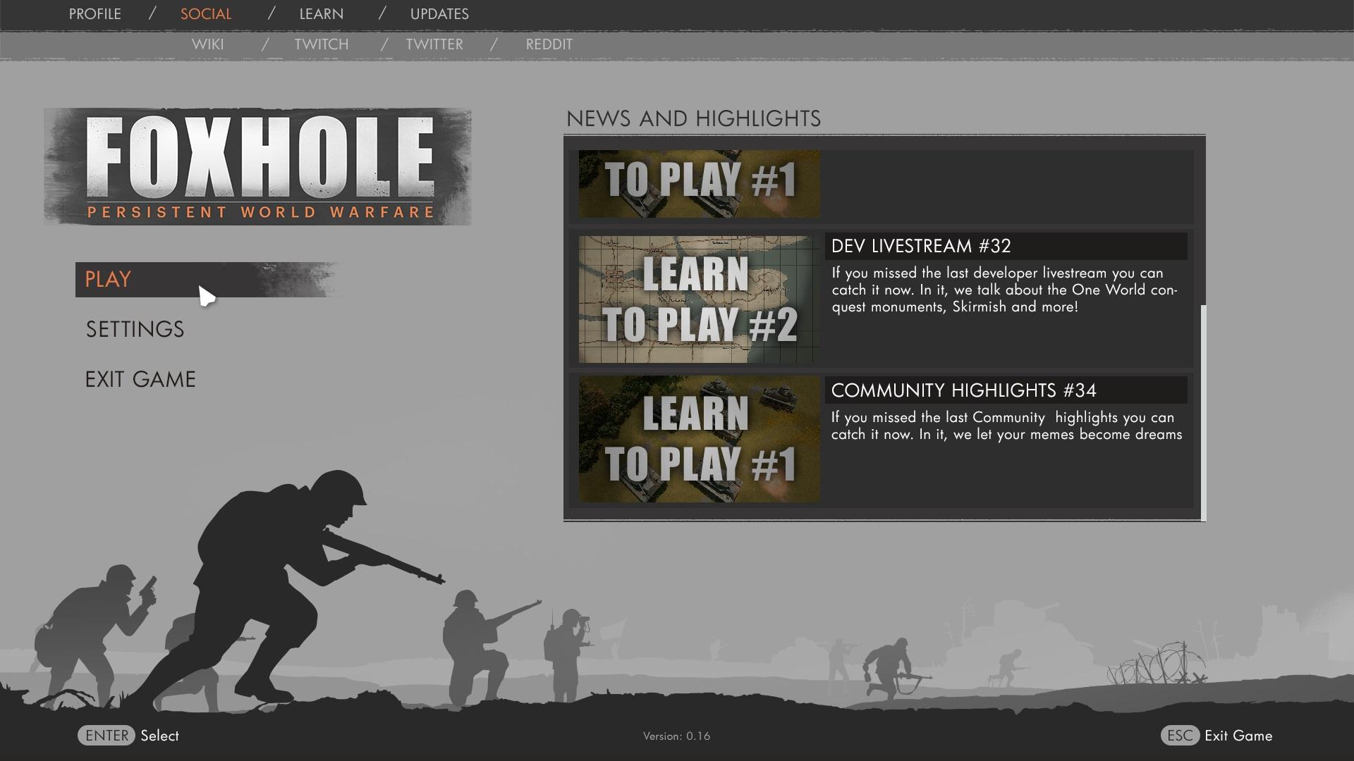 Storage Facility & UI design explorations news - Foxhole