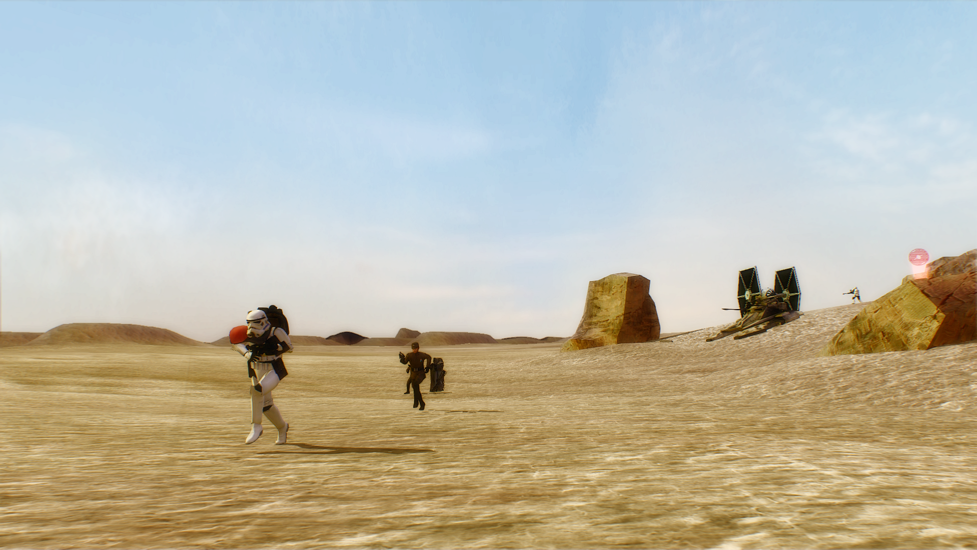 Tatooine Dune Sea Battlefront 2 HD