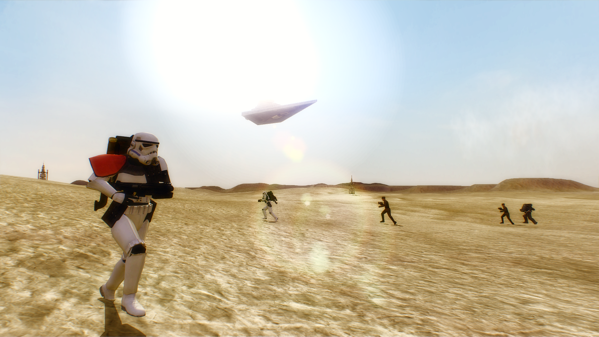 Tatooine Sandtrooper Battlefront 2 HD