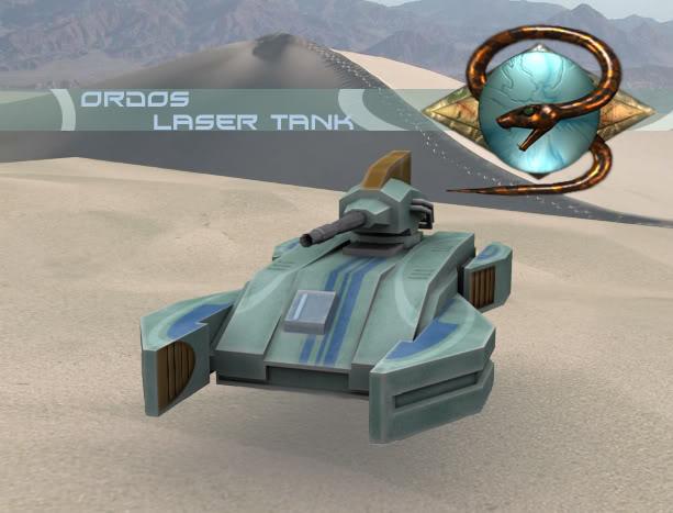 Ordos Laser Tank