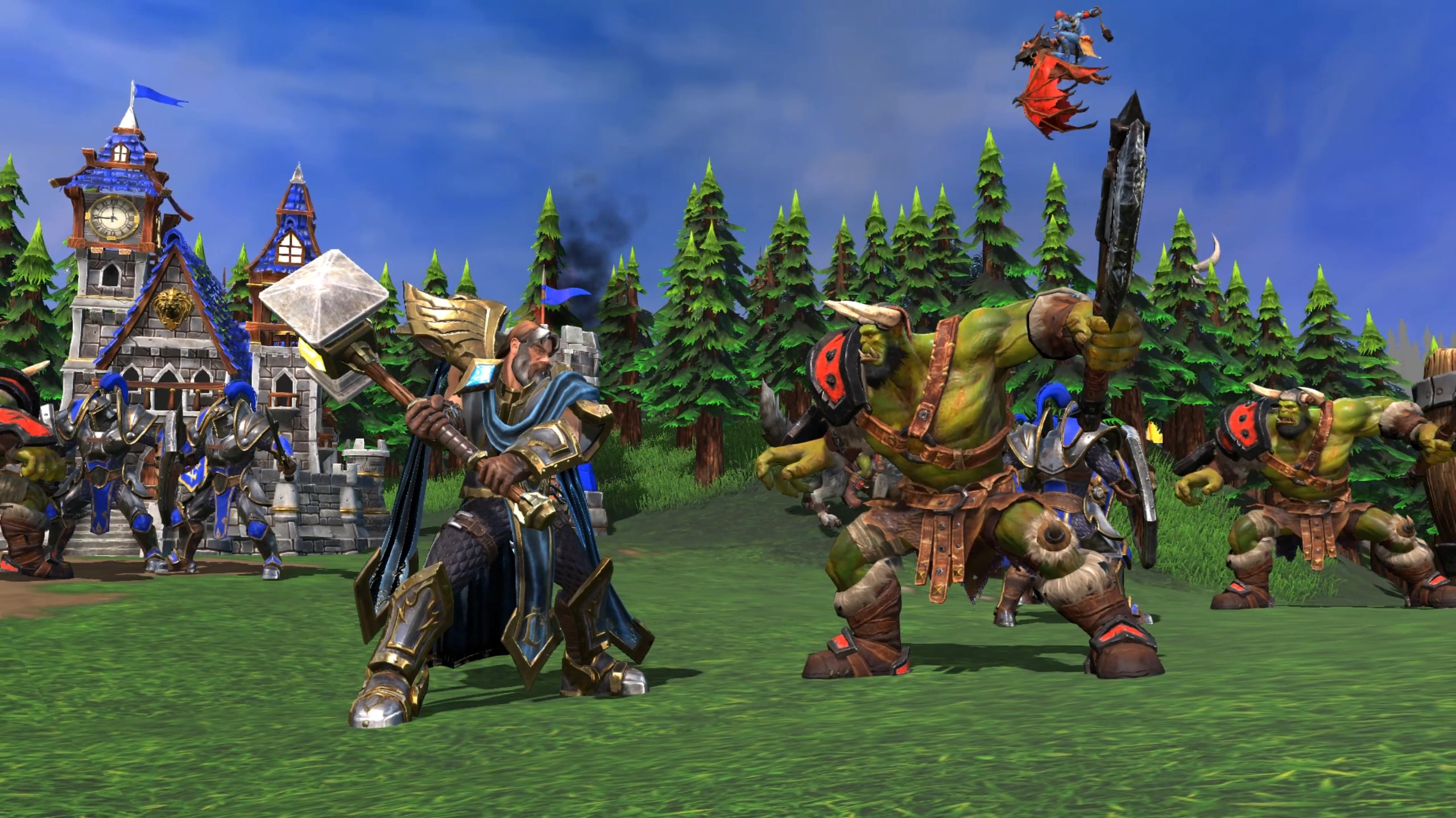Warcraft 3 release date in Brisbane