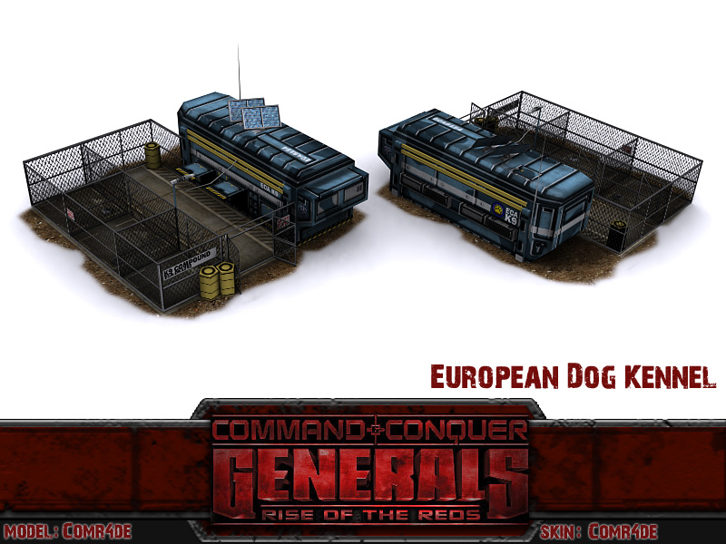 Image result for kennel rise of the reds