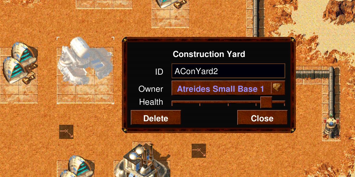 Map Editor Improvements Profiles