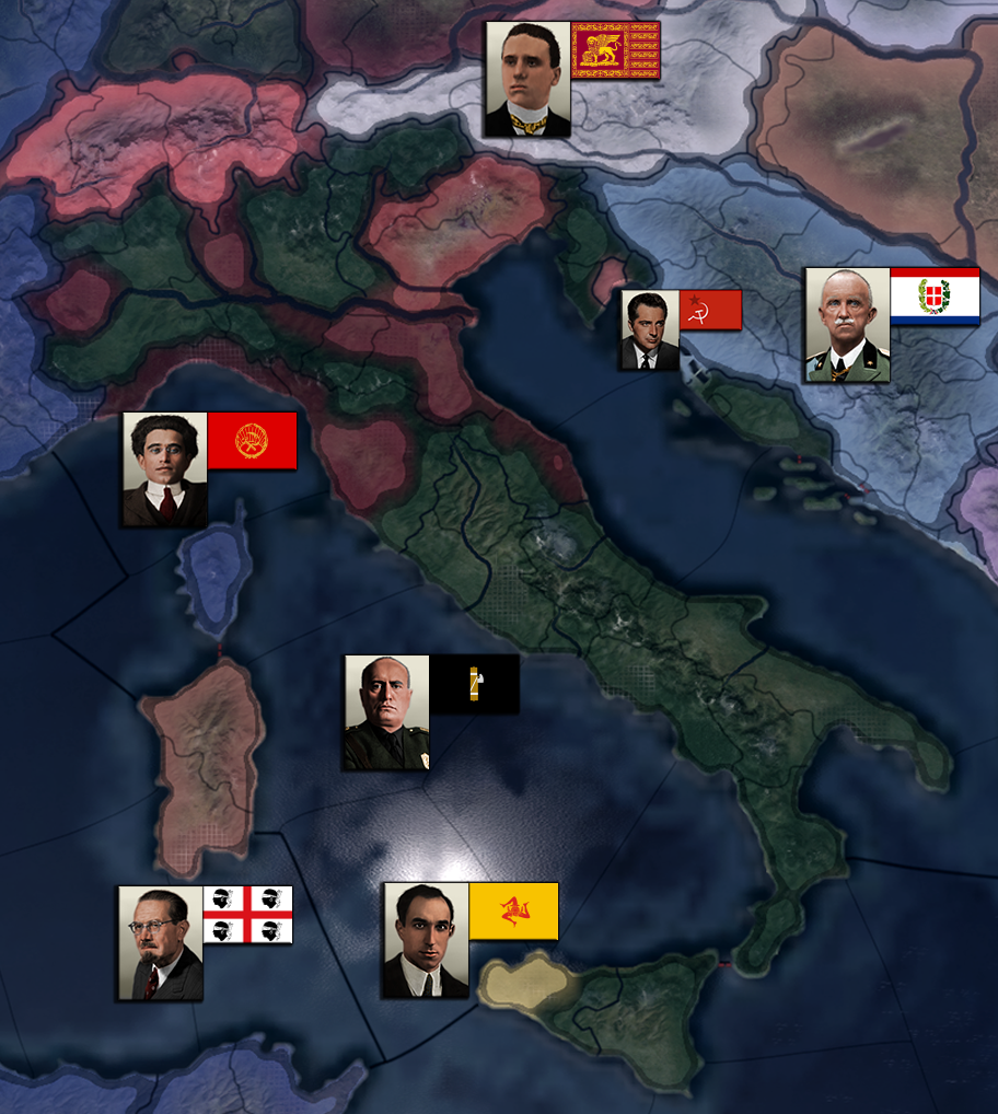 Spartakus - World in Revolution mod for Hearts of Iron IV